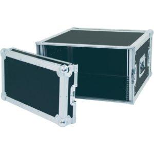 """Transportväska med 6U 19"""" rack integrerat"""
