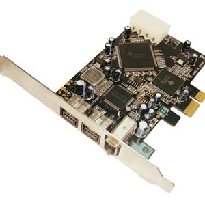 2-Port FireWire 800 1394b 1-Port 1394a PCI-Express Card
