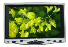 7 tum TFT LCD 6190GL monitor med VGA och video