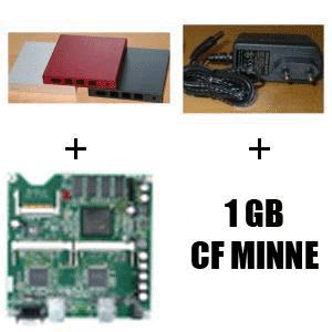 Fläktlös PC ALIX 1D AMD 500 Mhz 256MB PAKETPRIS