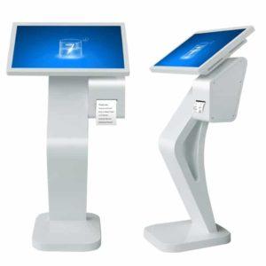 """24"""" Fristående terminal / kiosk med inbyggd skrivare"""