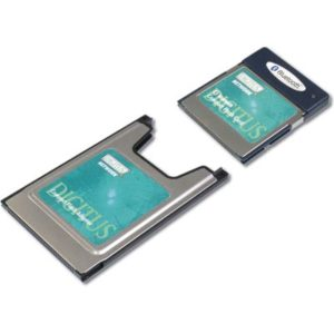 Bluetooth compact flash kort med PC Card adapter