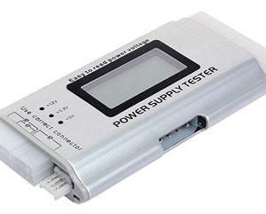 Cooltek nätdelstestare med LCD