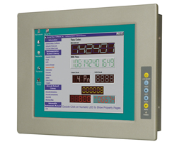 "Industrimonitor 12,1"" touchscreen IP64 front 9-36V DC"