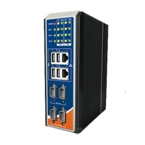 Embedded PC Intel Atom N2800  Win 7 Pro DIN rail mount