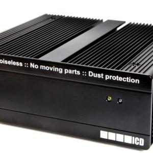 ICD FL3515 - Komplett fläktlös Intel industridator Intel I3