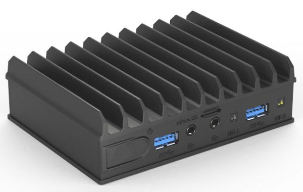 Embedded fanless low power PC - STANDARD
