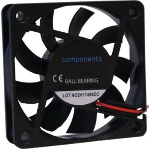 Axial fan 60x60x15mm 24V DC
