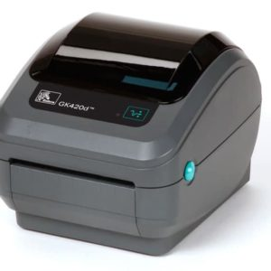 Etikettskrivare Zebra GK420D Direkt termo ink nätdel USB
