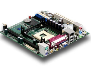 ICD mini ITX Intel P4 Socket 478 Industrial board