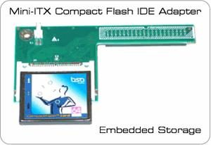 ITX IDE till compact flash adapter
