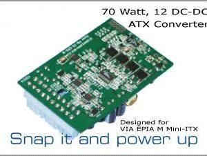 ITX Nätaggregat DC DC 100W EPIA M