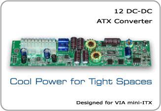 ITX Nätaggregat DC DC 100W EPIA