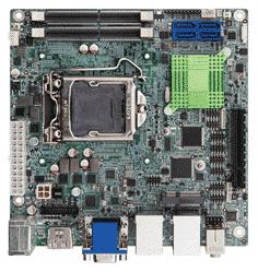 iEi Kino AQ170-R10 socket 1151 Gen 6 o 7 Industri ITX moderkort