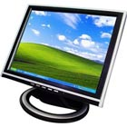 "15"" TFT LCD display med touchscreen"