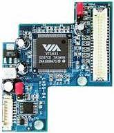 LVDS 04 expansionkort för VIA ITX TC CL MII PD
