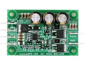 Mini UPS kontroller 12V DC battery backup system