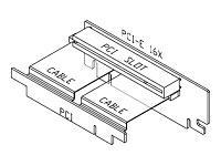 Raiserkort PCI till PCI med PCIe montage