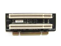 Raiserkort aktivt med 2 PCI slot för ITX moderkor