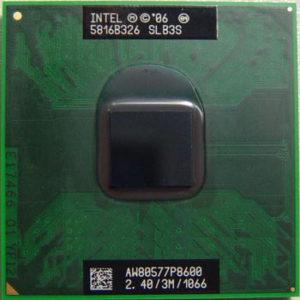 Intel Core 2 Duo P8600 2,4 GHz SLB3S Socket P