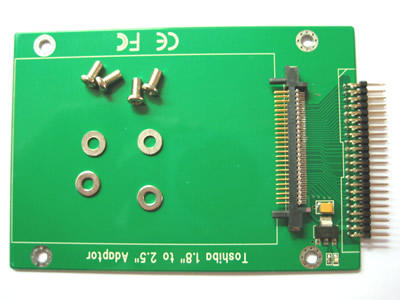 1,8 inch to 2,5 inch IDE hard drive adapter