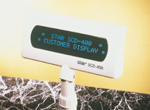 STAR SCD 400 kunddisplay