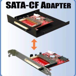 Serial ATA till compact flash adapter