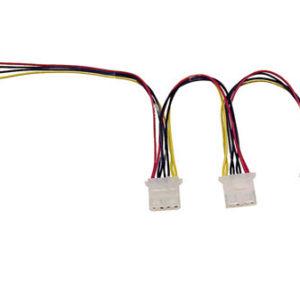 Strömadapter internkablage 1 till 3 tex CD ROM
