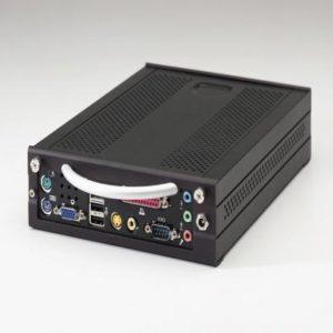 Travla C134 ITX chassi svart