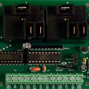 USB Reläkontroller 2 kanalig 20 Amp SPDT+ 8 kanal 8/10 bit A/D