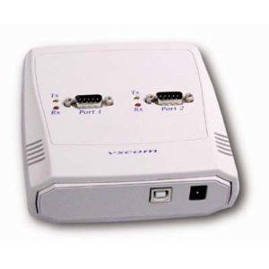 USB till 2 st RS 422 och 485 db9