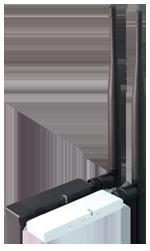 USB WLAN 54Mbps (200mW) med löstagbar antenn