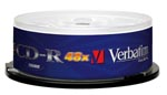 Verbatim 48X CD R 50p 80 min 700 MB