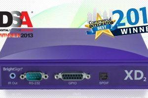 Mediaspelare digital signage Brightsign XD-232 Dual Screen