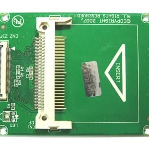 1,8 inch ZIF CE  to compact flash adapter