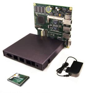ALIX 2d13 KIT med 3 LAN USB ink WLAN
