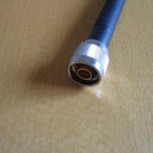 Antenn N male 5 dBi 2.4 GHz + pigtail i-pex till N