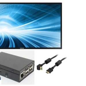 "Digital Signage Screenly SDS 3432G standardkit med 40"" LCD"