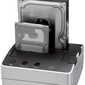 Hard drive dock duplicator