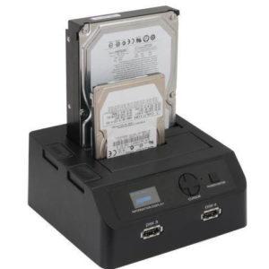 Professionell diskduplikator dockning SATA