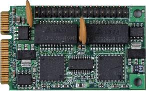 Mini PCI Express kort med dubbla Gigabit LAN