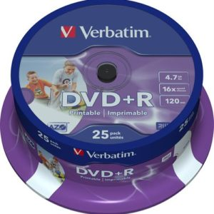 Verbatim DVD+R 25 Printable pack