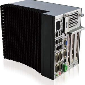 Komplett fläktlös Intel industridator Dual Core Atom med 3 slot