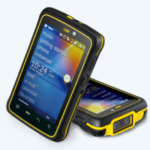 """Industriell handdator 4,3"""" display Android IP66"""