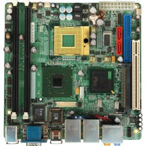 iEi 9452 mini ITX s479 dual GBLAN, digital IO, 1x RS232/422/485