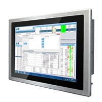 "Industrimonitor 15,6"" projected capacitive multitouch IP65 Front"