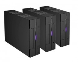 ICD 620 ITX Chassi Svart