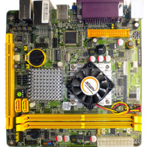 ICD mini ITX Intel Atom 510 CPU DDR2 1XRS232/422/485