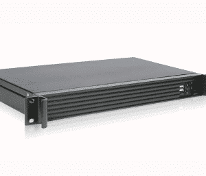 Industrial 1U 19 inch rackmount mini ITX short - 125