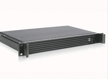 Industrial 1U 19 inch rackmount mini ITX short - 125